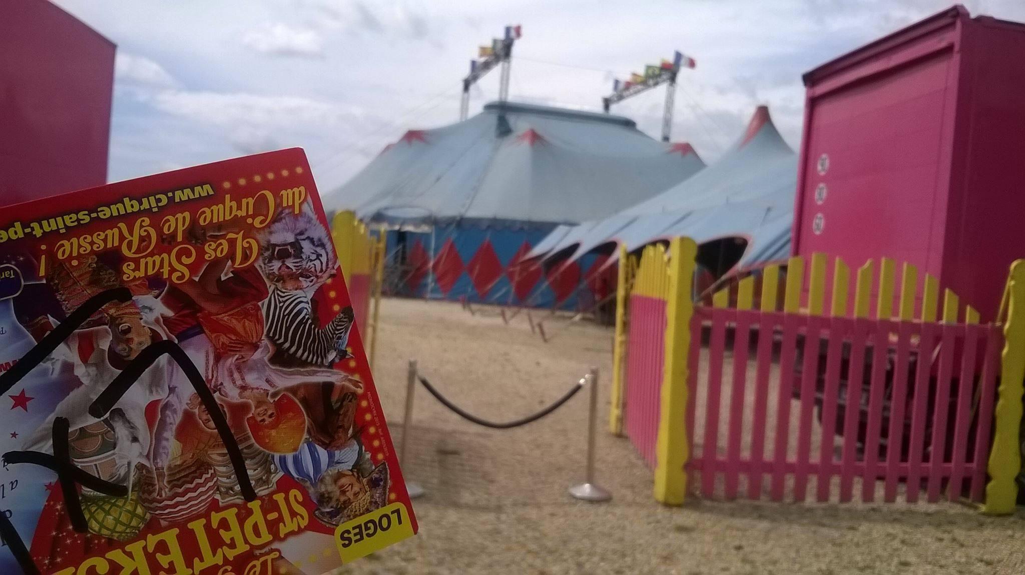 Cirque De Saint Petersbourg